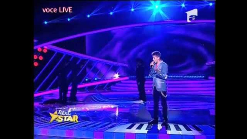 Valentin Poenariu - Je t'aime (Lara Fabian) - Next Star