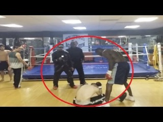 Champion Boxer Deontay Wilder Knocks Out Internet Troll ... In Real Life|