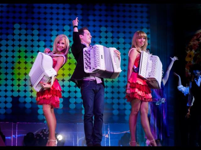 Россия Дуэт аккордеонисток ЛюбАня и Александр Шведов Москва Moscow accordion баян