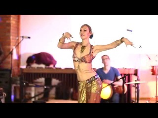 Tribal Fusion Tabla solo. Svetlana and Alexey Bulash.