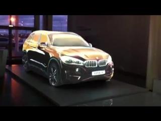 BMW в лазерной 3D проекции