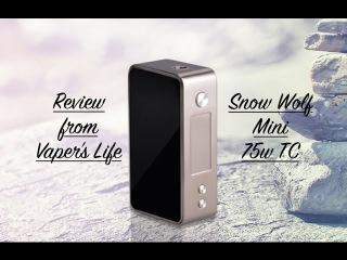 Обзор боксмода Snow Wolf Mini 75W TC от компании Asmodus. Очень просто и лаконично...