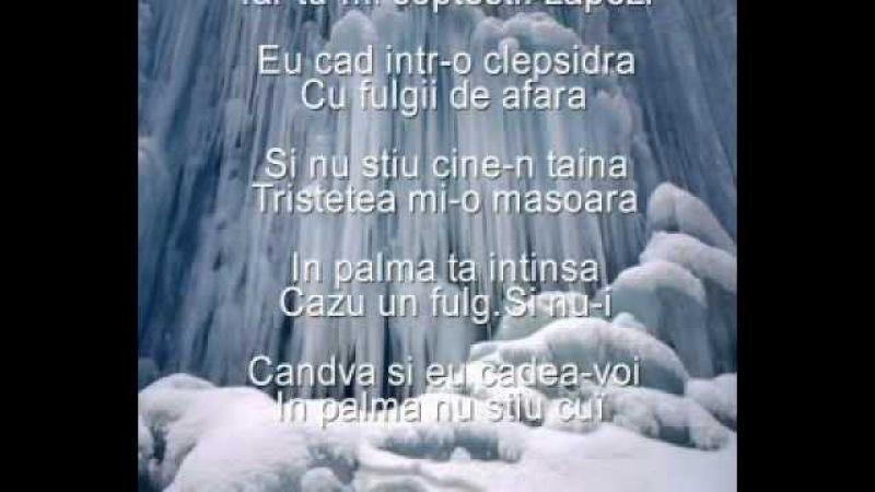 Ducu Bertzi Scrisoare la inceput de iarna versuri