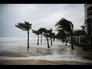 Hurricane Joaquin Strong Winds And Heavy Rain 1/10/2015  VIDEO
