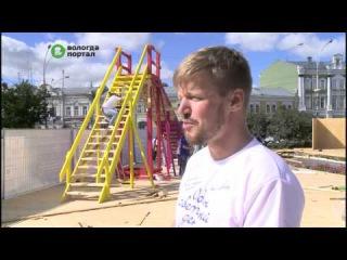 Более 50 различных конструкций установят на площади Революции для игры «Один светлый день»