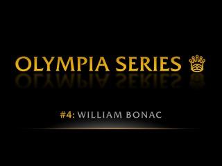 OLYMPIA SERIES: William Bonac | Pro BB World