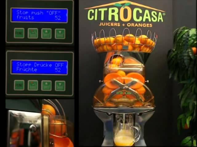 Автоматическая соковыжималка для апельсинов_ROVABO