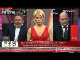 """Аваков VS Саакашвили. Скандал года. Часть 2 """"Большой эфир"""" со Светланой Орловской."""