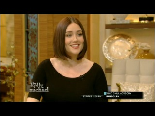 The Blacklist / Megan Boone on Live! with Kelly and Michael / 720