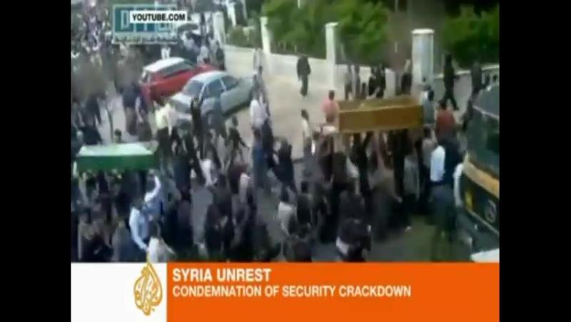 В Сирии снова насилие Аль Джазира 25 04 2011