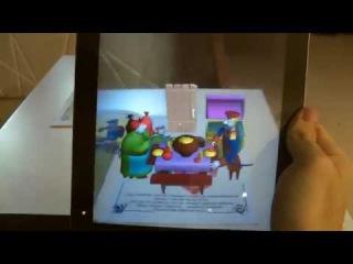 Живая сказка-раскраска 3D «Каша из топора», Devar Kids