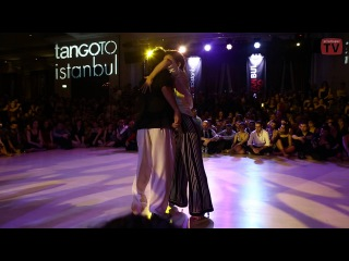 Serkan Gokcesu & Cecilia Garcia, 1-4, tanGO TO istanbul - 5th edition - 2013