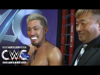 #My1 Akira Tozawa turns his focus to competing inside a WWE ring: CWC Exclusive, Aug. 31, 2016