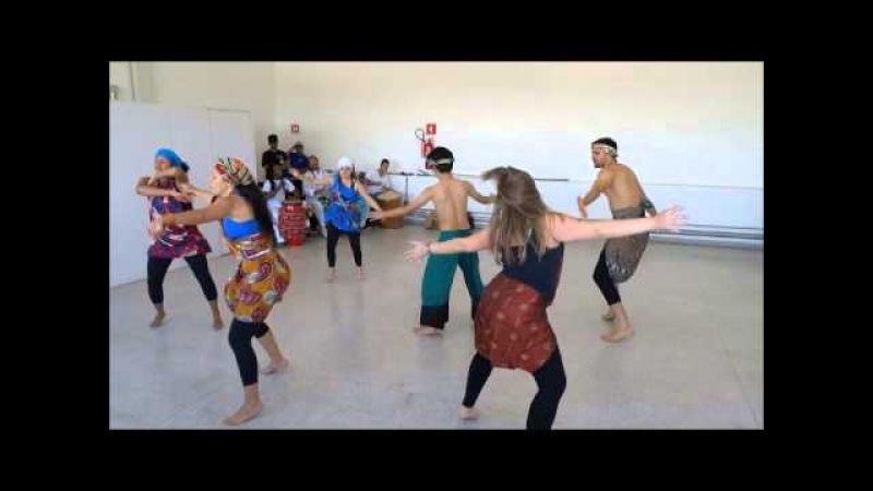 Ojú Oyá (Núcleo de Dança Afro) - Angoleiro Sim Sinhô