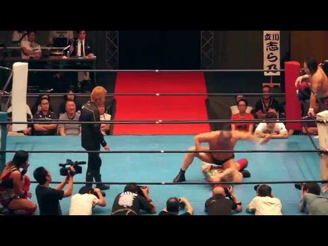 華名(KANA)20024藤正道vs鈴木みのる37324村明衣子 06162014 [Kanapromaniareach]