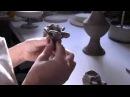 Hand made Ceramic Rose. Italian Ceramics of Bassano