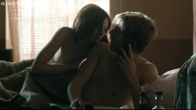 Lydia hearst goes nearly naked for treats magazine