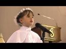 Martyna Mierzwiak piosenka podczas Pierwszej Komunii Świętej