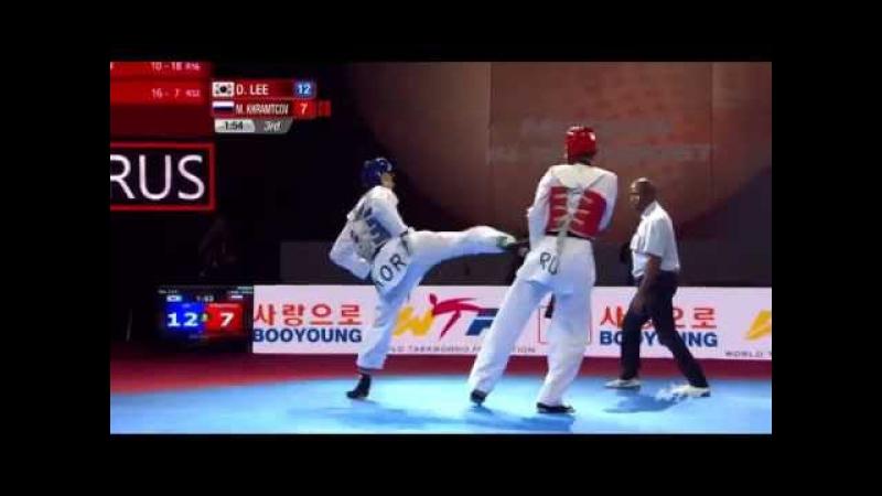 Dae hoon LEE KOR vs Maksim Khramtcov RUS Semifinal M 68