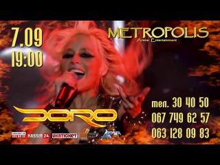   DORO в Черноморске @ Metropolis