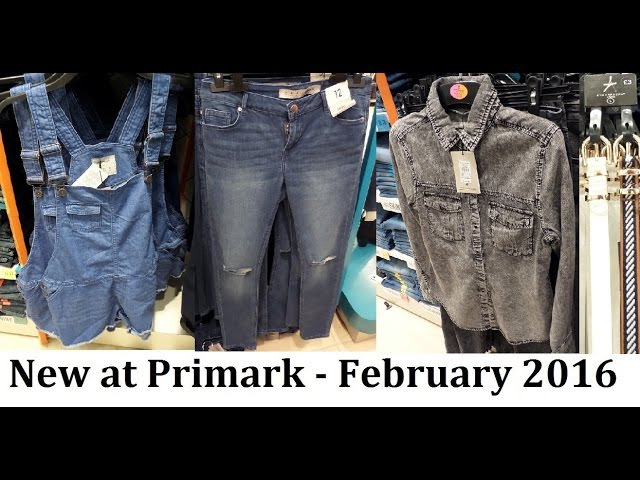 New Denim at Primark   February 2016   IlovePrimark