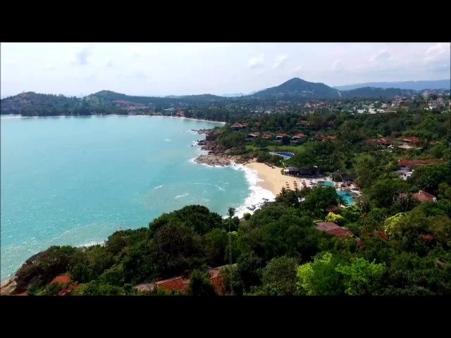 Остров САМУИ KOH SAMUI Тайланд с высоты птичьего полета Dji Phantom 3