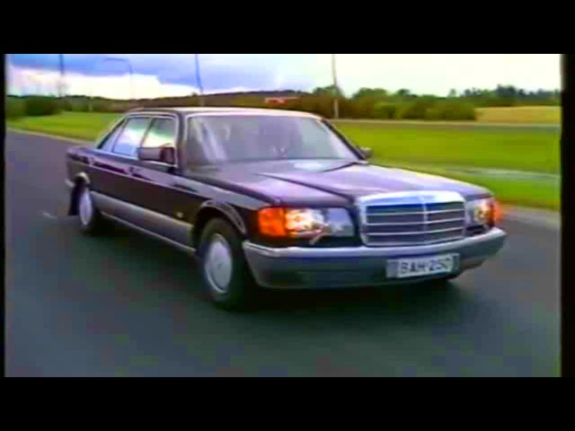 Mercedes W126 video review