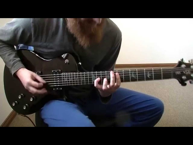 Robert Spurling - Detached with a PRS SE Fredrik Akesson
