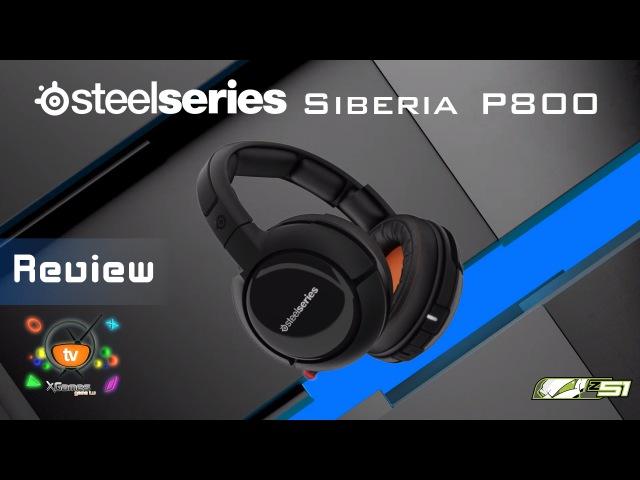 Обзор SteelSeries Siberia P800 беспроводная игровая гарнитура GameTech Review