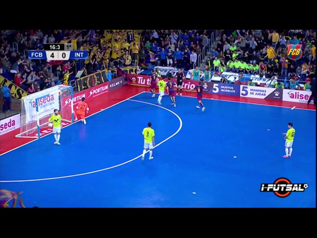 Analyse Futsal But Barça face à l'Inter Movisar