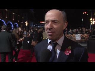 Интервью Джона Килика на премьере «СП1» (Лондон)