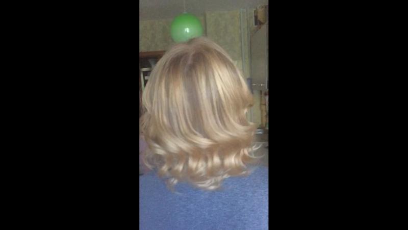 Нежный балаяж для Елены😉👌 безфильтров волосы окрашивание окрашиваниеволос goldwell kaaral hair