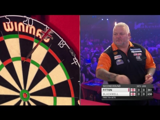 Pip Blackwell vs Darryl Fitton (BDO World Darts Championship 2017 / Round 2)