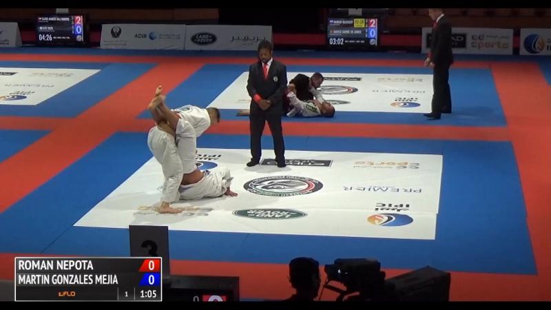Roman Nepota vs Martin Gonzales Mejia WorldPro17