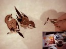 Raggedy Sparrow Practice 5 Chinese Brush Painting Birds Animals Flowers