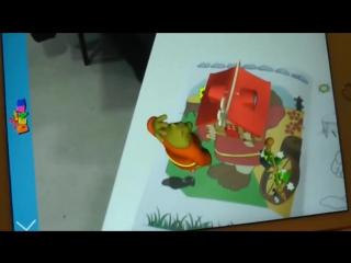 """Живая 3D сказка-раскраска """"Теремок"""" (краткий обзор + инструкция)"""