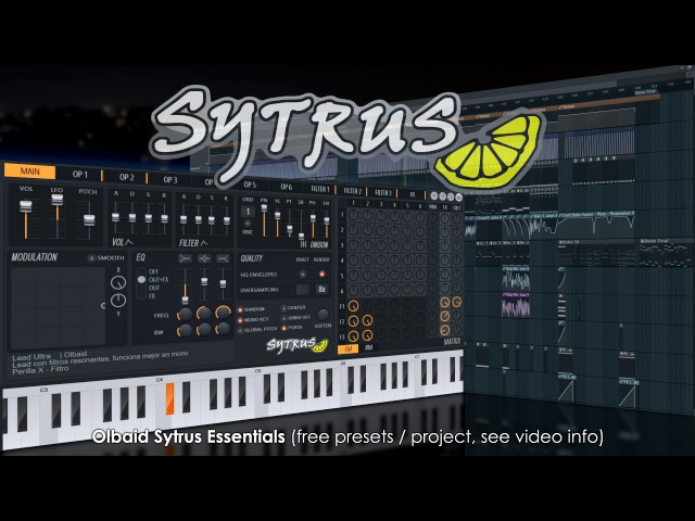 Sytrus Olbaid Sytrus Essentials free download see video info