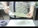 Как правильно обвернуть циновку плёнкой