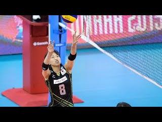 古賀紗理那 ท่าวอร์มยังน่ารัก Sarina KOGA | Japan vs Brazil | 2015 FIVB WGP
