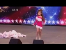 4 years old girl dances like Shakira! The judges loved it!