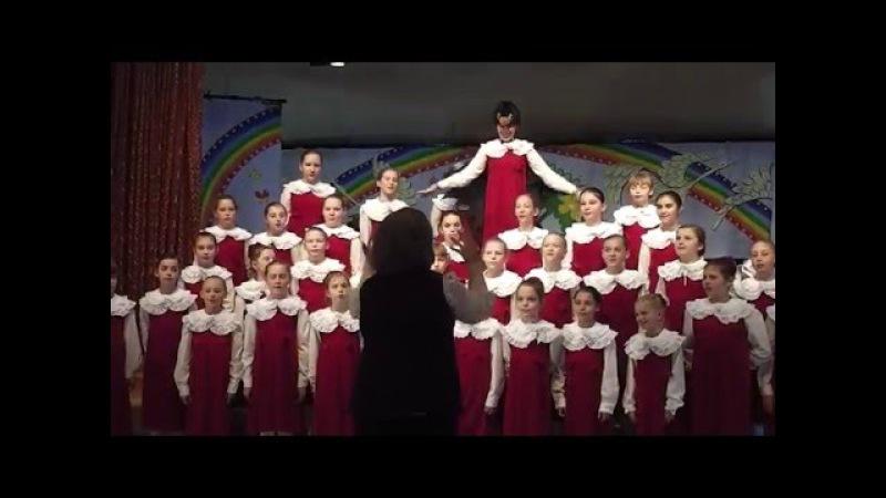 Пасхальный концерт Средний хор девочек ДЦМШ Успенский храм г Красногорск 14 05 2016