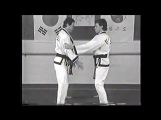 Korean martial arts old video hanmudo (dr. he-young kimm, hapkido, taekwondo)