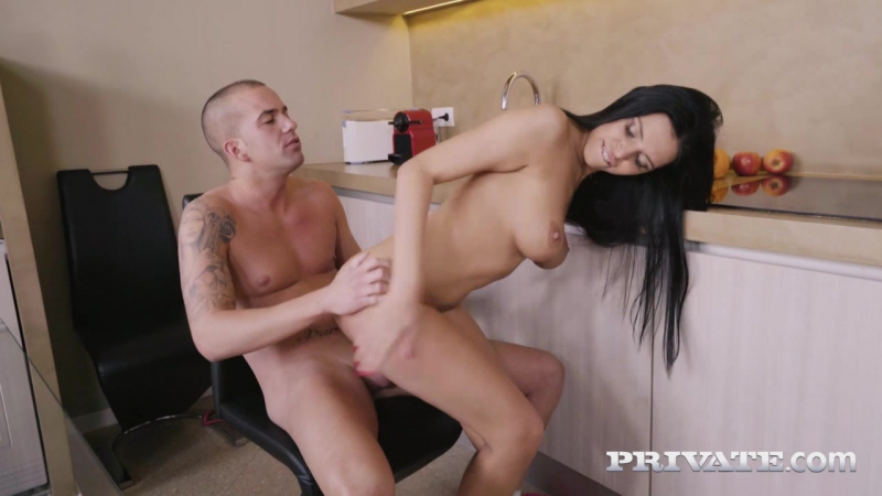 Hot Busty Kira Queen Finishes Her Man With a Tit Wank [Big Ass, Big natural breasts, Boob Fucking,]