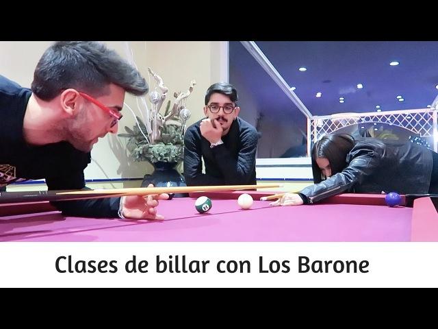 Piero Barone de IL VOLO enseñando a jugar billar en Italia | SocialPoli