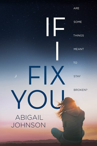If I Fix You, A Novel