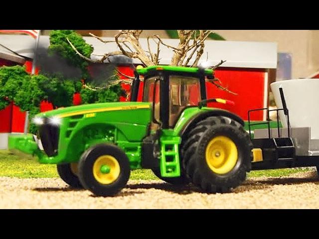 Traktor Dobre Traktorki i Auta Bajki dla dzieci po polsku Maszyna rolnicza Kreskówki