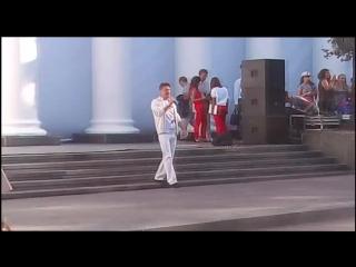 Сакура Олег -  le temps des cathedrales на Думской.  г. Одесса 2016.