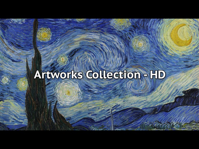 Vincent Van Gogh Masterpieces Collection of Paintings HD