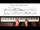 "Tchaikovsky ""Valse Sentimentale"" P. Barton, FEURICH 218 piano"