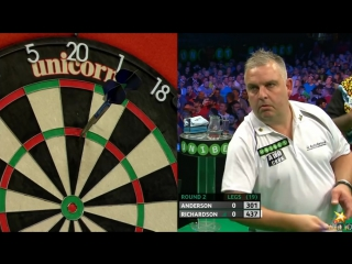 Kyle Anderson vs James Richardson (PDC European Championship 2016 / Round 2)